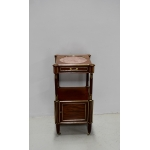 LOUIS XVI STYLE BEDSIDE TABLE