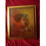 OIL ON CANVAS SIGNED GEORGE ROGY 1949