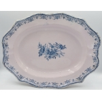 18th CENTURY MOUSTIERS DISH