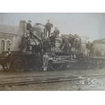 PHOTO OF A LOCOMOTIVE