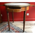 Bouillotte table in mahogany late 18th / early 19th