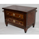 LOUIS XVI PERIOD MINIATURE CHEST OF DRAWERS