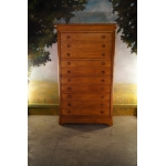 LARGE NOTARY'S CHEST OF DRAWERS