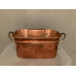 18th CENTURY COPPER SAUCEPAN