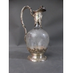SILVER AND CRYSTAL EWER