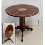 CHARLES X PERIOD TILT TOP TABLE