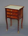 18th CENTURY BEDSIDE TABLE