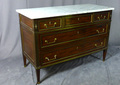FRENCH DIRECTOIRE PERIOD CHEST OF DRAWERS