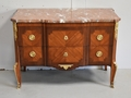 FRENCH TRANSITION STYLE CHEST OF DRAWERS