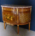 HALF MOON CHEST OF DRAWERS