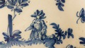 18th CENTURY FAIENCE PLATE