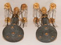 PAIR OF FRENCH DIRECTOIRE STYLE CANDELABRA
