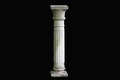 Column in reconstituted stone, architectural elements