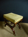 FRENCH EMPIRE STYLE  CURULE STOOL