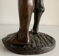 BRONZE FIGURE by Ernest Wante