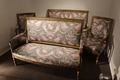 LOUIS XVI STYLE LIVING ROOM SUITE