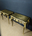 PAIR OF CARD TABLES