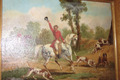 19th CENTURY HUNTING PAINTING