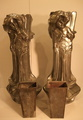 PAIR OF ART NOUVEAU VASES SIGNED FLORAN