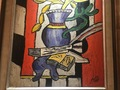 STILL LIFE AFTER LEGER by J. MARTIN