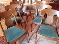 FRENCH RESTAURATION STYLE CHAIRS