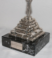 SILVER SCULPTURE SIGNED  BY SALVADOR DALI
