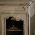 A painted 18th century cupboard