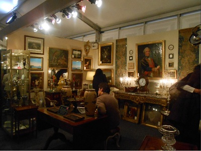 escale au salon des antiquaires de la bastille